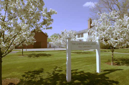 The Lewis Walpole Library, view from Main Street, Farmington, CT