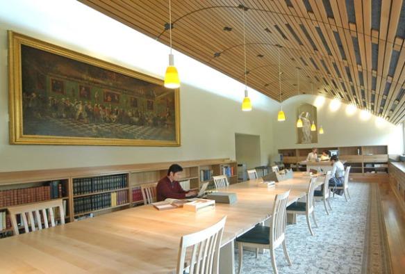 Lewis Walpole Library's Reading Room