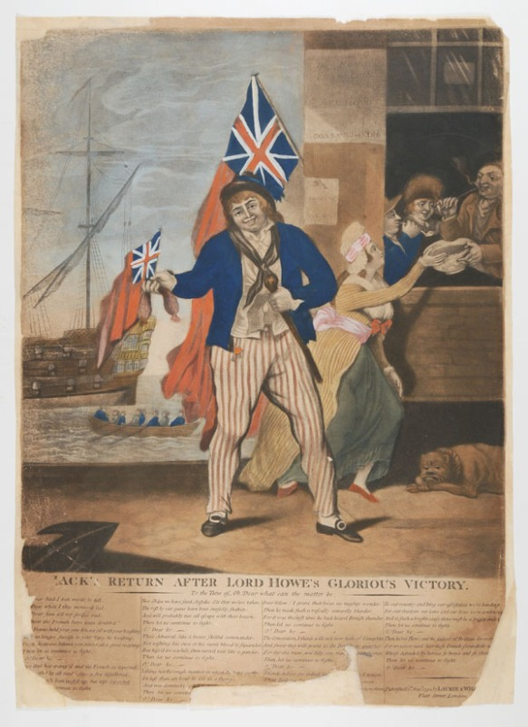 Jack's return: 1 print on wove paper, mezzotint