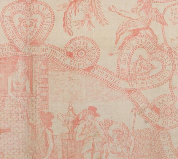 Detail from handkerchief