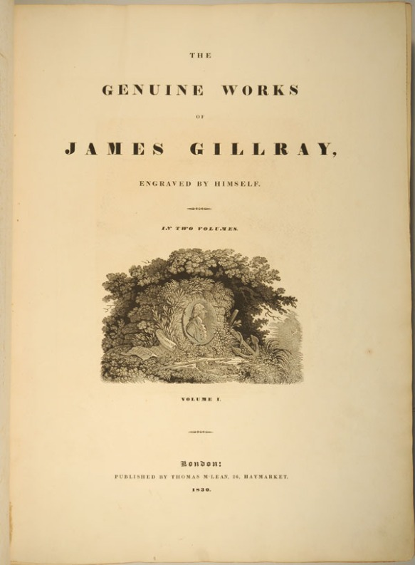 Genuine works of James Gillray