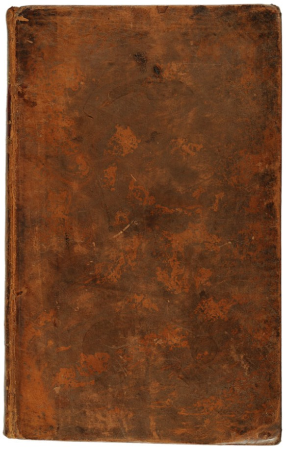 Contemporary mottled calf binding