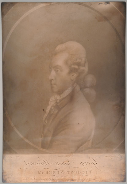 1 printing plate : copper ; 33 x 22.4 cm.
