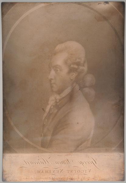 1 printing plate : copper ; 33 x 22.4 cm.