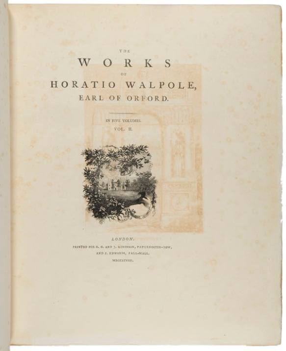 The works of Horatio Walpole, Earl of Orford, Vol. 2