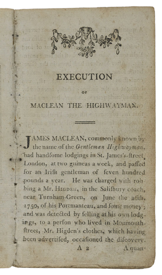 Execution of Maclean... (Selected Page)