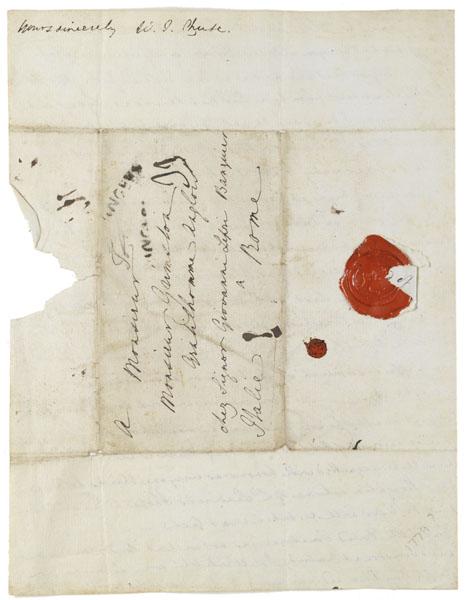 Enclosure: Letter : Angers, to Grimston, 1779 Jan 25.