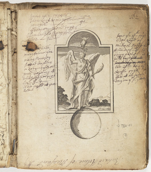 Selected page: John Rogers' book of receipts anno dom., [ca. 1730]