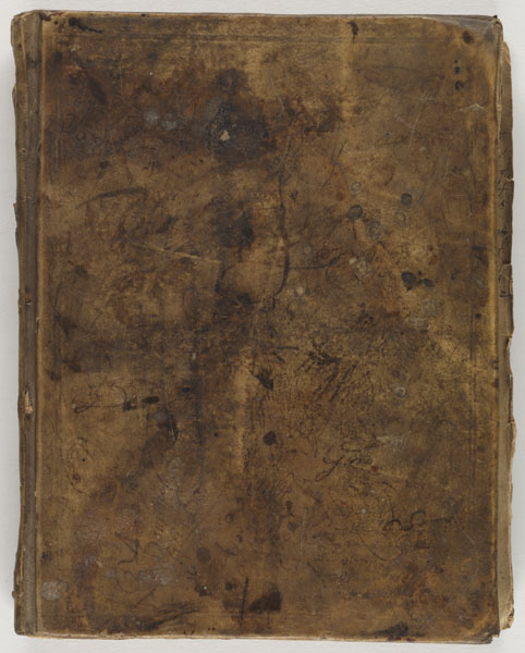 Cover: John Rogers' book of receipts anno dom., [ca. 1730]