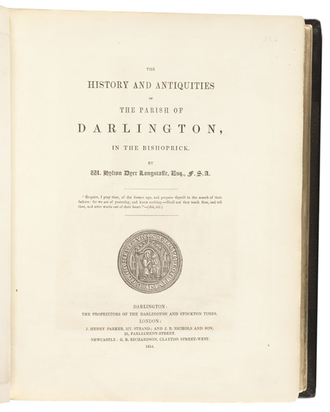 Selected Title page