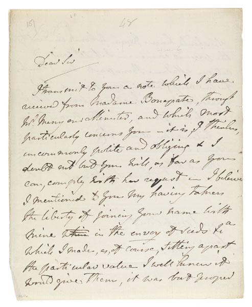 Letter : London, to Sir Joseph Banks, 1802 June 2