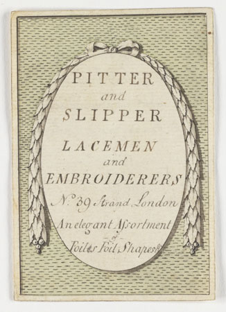 Pitter and Slipper, lacemen...