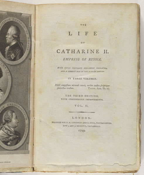 The life of Catharine II, Empress of Russia