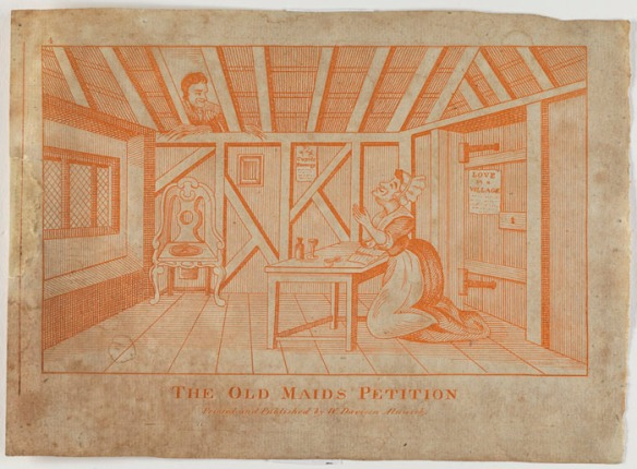 The old maids petition