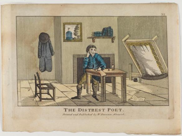 The distrest poet