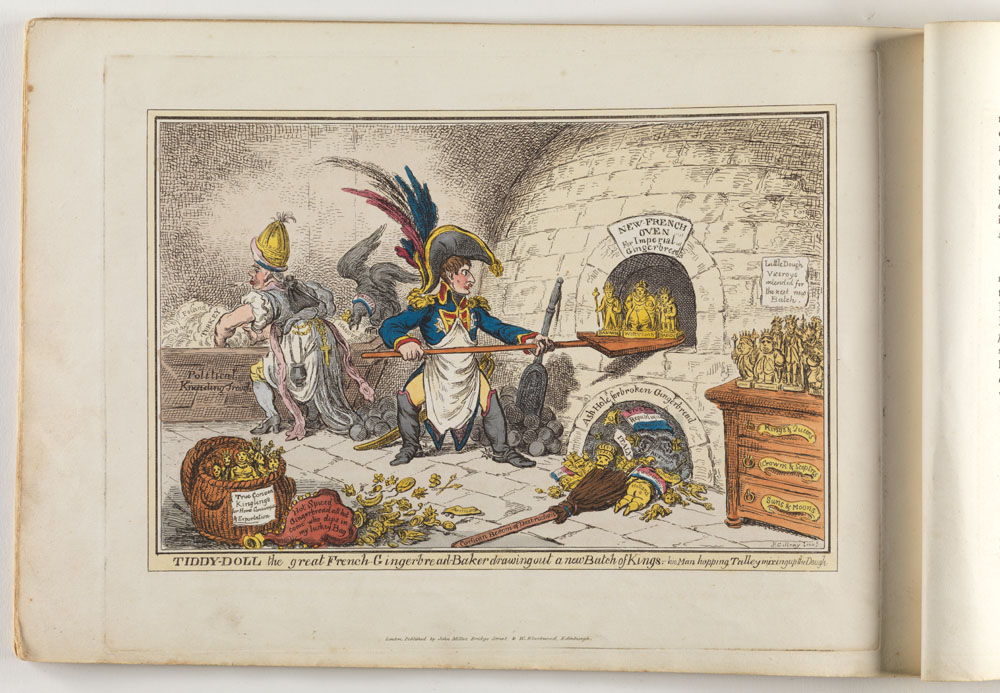 Selection 2: The caricatures of James Gillray