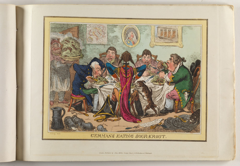 Selection 3: The caricatures of James Gillray