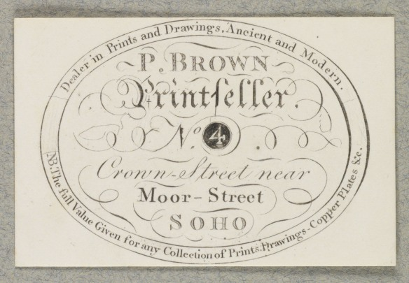 P. Brown Printseller