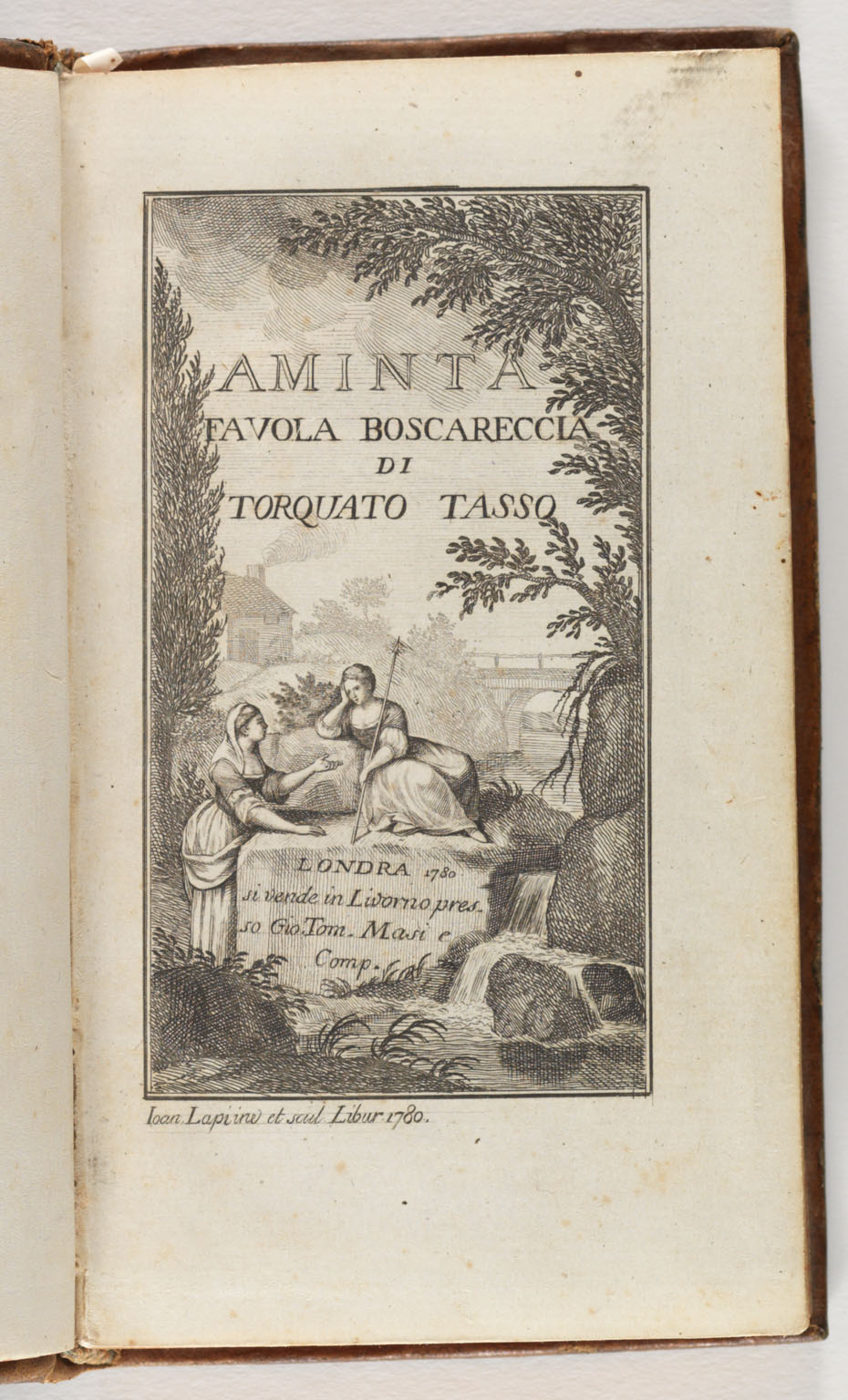 CLICK FOR LARGER IMAGE: Title page - Aminta
