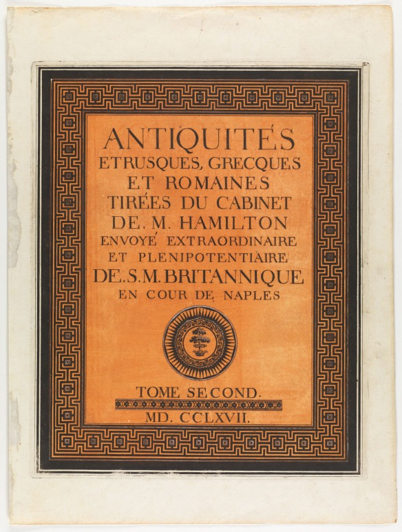 CLICK FOR LARGER IMAGE: Title page from Antiquités etrusques