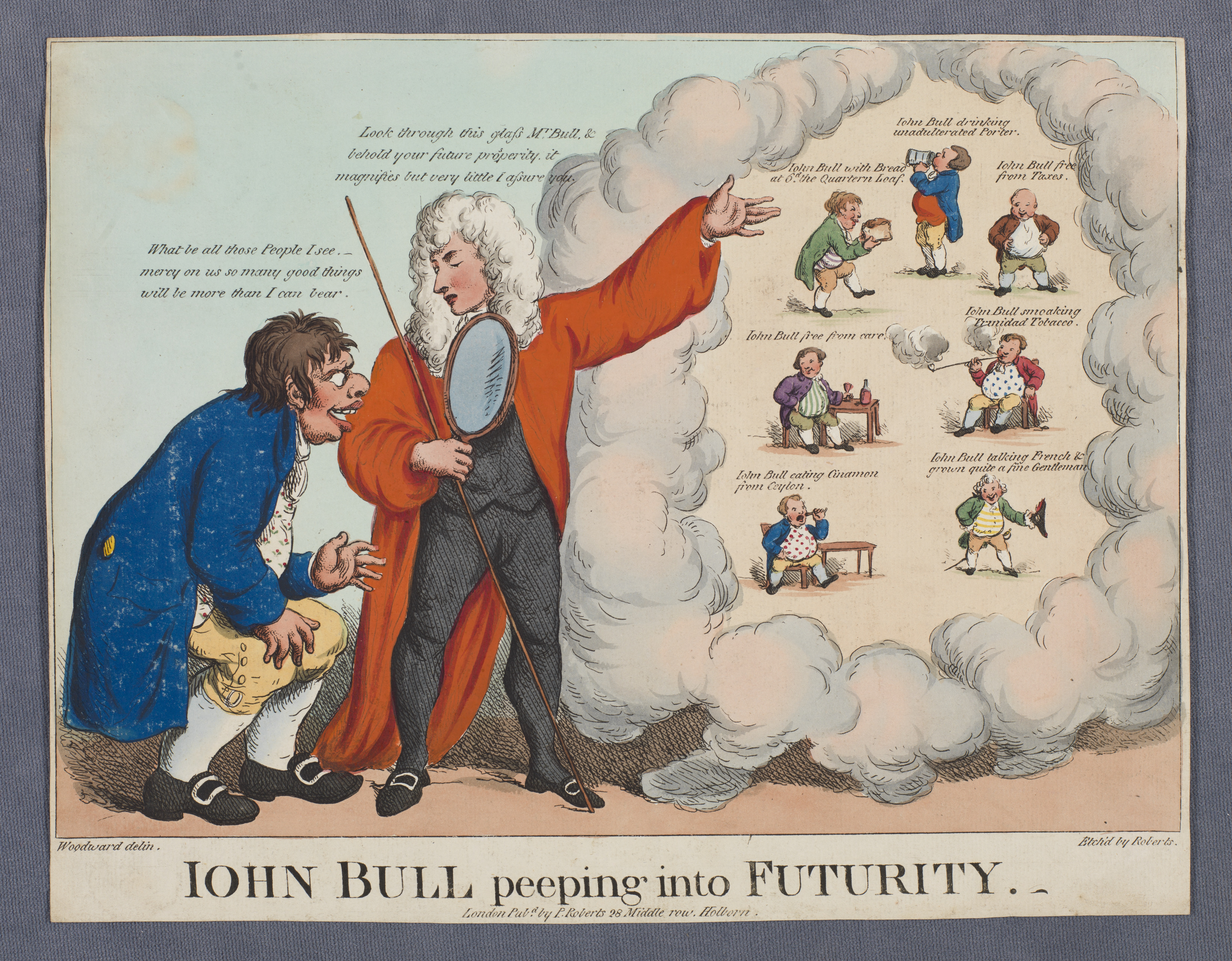 Iohn Bull peeping into futurity