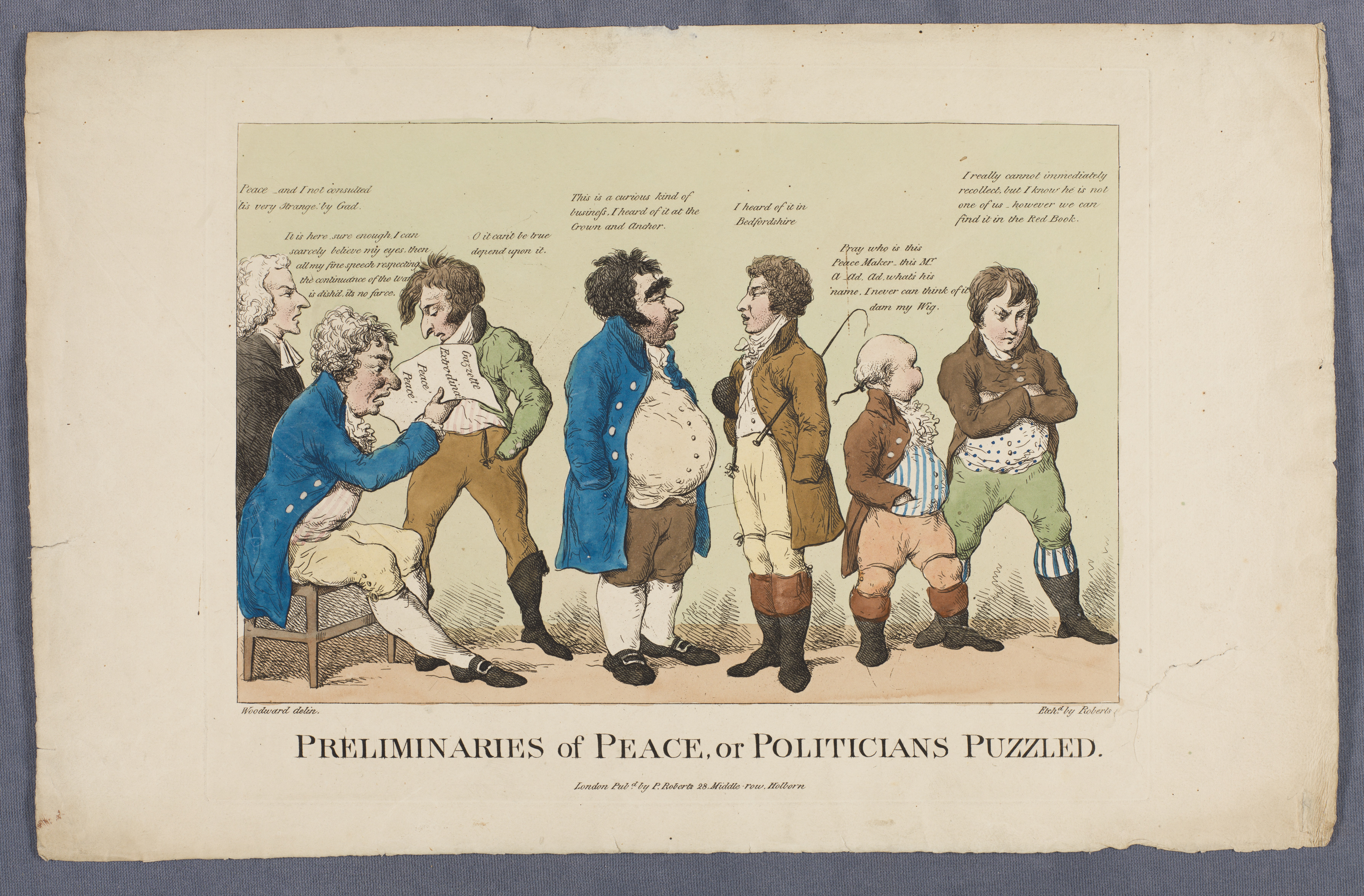 Preliminaries of peace, or, Politicians puzzled